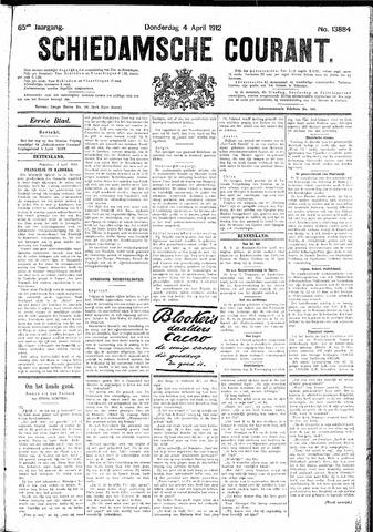 Schiedamsche Courant 1912-04-04