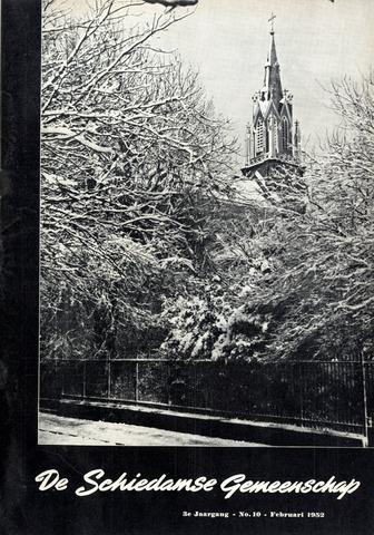 Schiedamse Gemeenschap (tijdschrift) 1952-02-01