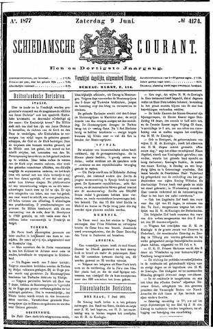 Schiedamsche Courant 1877-06-09