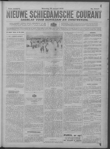 Nieuwe Schiedamsche Courant 1929-01-28