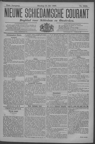 Nieuwe Schiedamsche Courant 1909-05-25