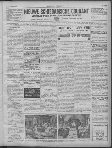Nieuwe Schiedamsche Courant 1932-07-09