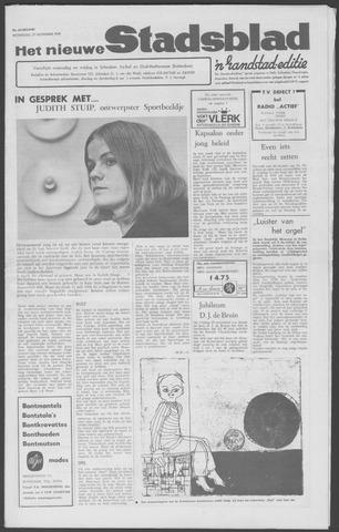 Het Nieuwe Stadsblad 1968-11-27