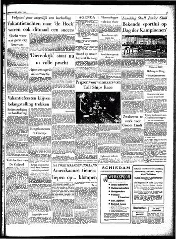 Rotterdamsch Parool / De Schiedammer 1962-08-21