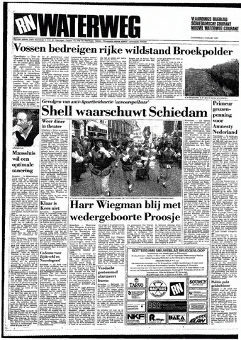 Rotterdamsch Nieuwsblad / Schiedamsche Courant / Rotterdams Dagblad / Waterweg / Algemeen Dagblad 1987-03-05