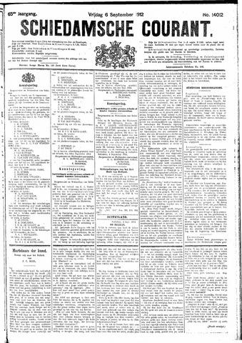 Schiedamsche Courant 1912-09-06