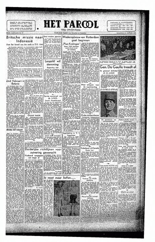 Rotterdamsch Parool / De Schiedammer 1946-01-21