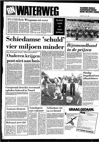 Rotterdamsch Nieuwsblad / Schiedamsche Courant / Rotterdams Dagblad / Waterweg / Algemeen Dagblad 1985-07-29