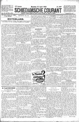 Schiedamsche Courant 1929-04-15