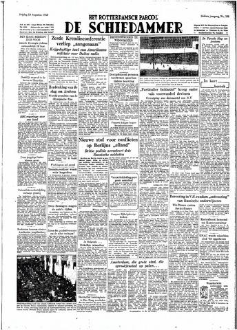 Rotterdamsch Parool / De Schiedammer 1948-08-13