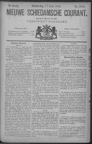 Nieuwe Schiedamsche Courant 1886-06-17