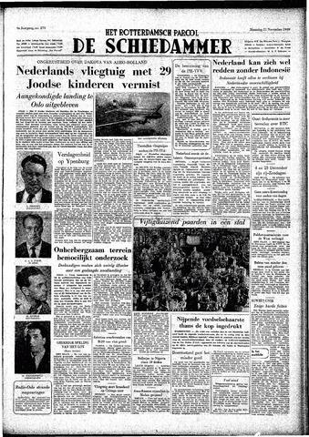 Rotterdamsch Parool / De Schiedammer 1949-11-21