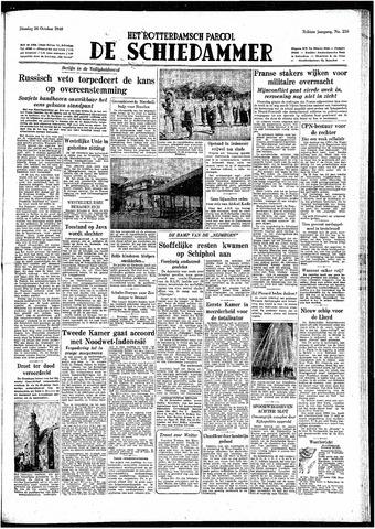 Rotterdamsch Parool / De Schiedammer 1948-10-26
