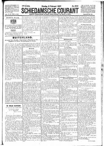 Schiedamsche Courant 1927-02-08