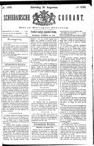 Schiedamsche Courant 1879-08-30