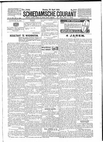 Schiedamsche Courant 1933-04-25