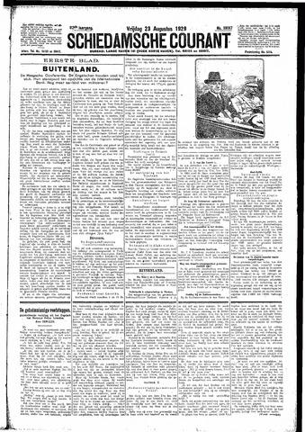 Schiedamsche Courant 1929-08-23