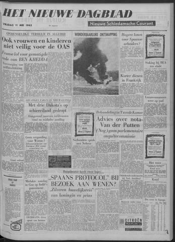 Nieuwe Schiedamsche Courant 1962-05-11