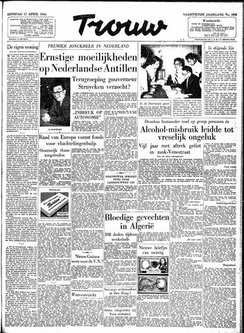 Trouw / De Rotterdammer 1956-04-17