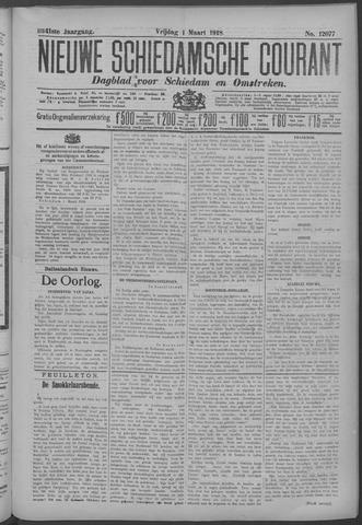 Nieuwe Schiedamsche Courant 1918-03-01
