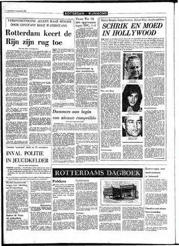 Rotterdamsch Parool / De Schiedammer 1968-09-11