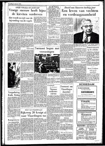 Rotterdamsch Parool / De Schiedammer 1961-01-11