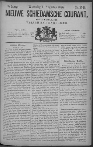 Nieuwe Schiedamsche Courant 1886-08-11