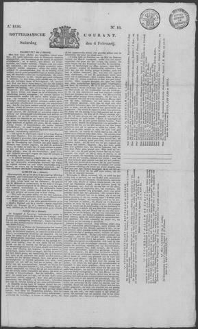 Rotterdamse Courant 1836-02-06