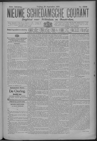 Nieuwe Schiedamsche Courant 1918-09-21