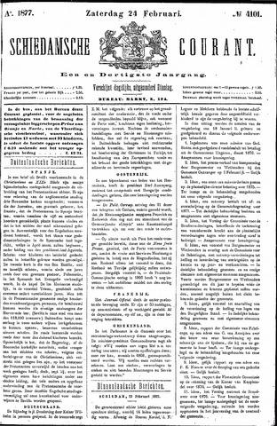Schiedamsche Courant 1877-02-24