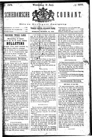 Schiedamsche Courant 1879-06-11