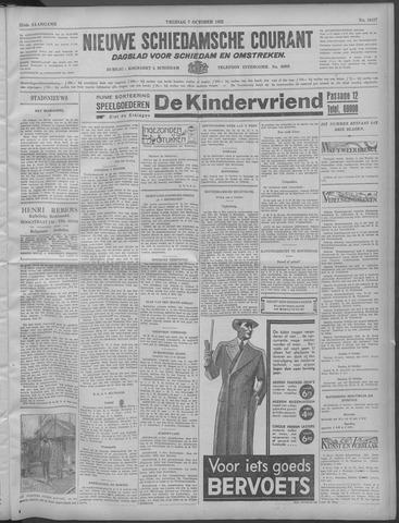 Nieuwe Schiedamsche Courant 1932-10-07