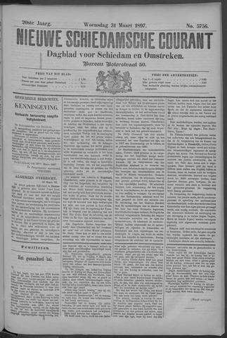 Nieuwe Schiedamsche Courant 1897-03-31