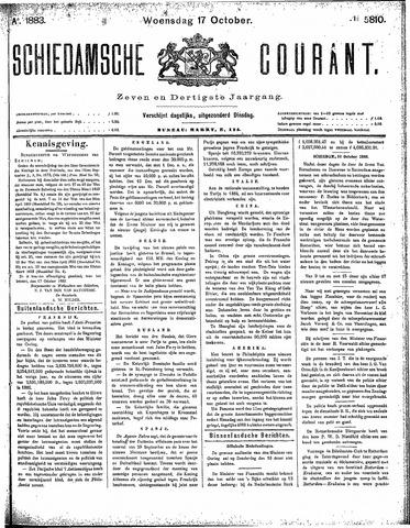 Schiedamsche Courant 1883-10-17