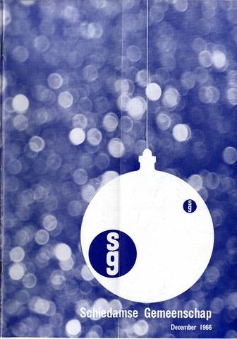 Schiedamse Gemeenschap (tijdschrift) 1966-12-01
