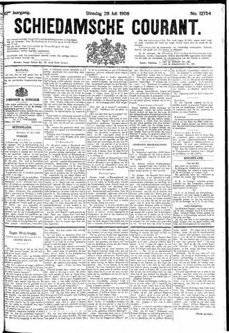 Schiedamsche Courant 1908-07-28