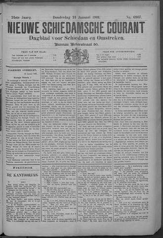 Nieuwe Schiedamsche Courant 1901-01-24