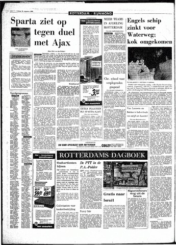 Rotterdamsch Parool / De Schiedammer 1968-08-30