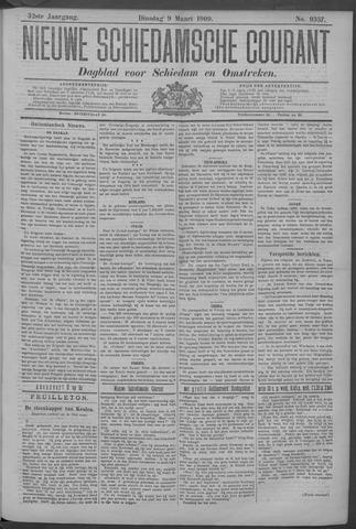 Nieuwe Schiedamsche Courant 1909-03-09