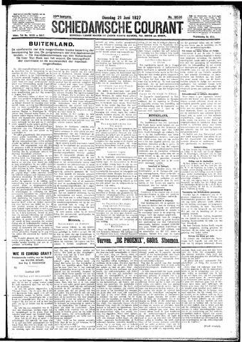 Schiedamsche Courant 1927-06-21