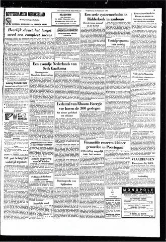 Rotterdamsch Nieuwsblad / Schiedamsche Courant / Rotterdams Dagblad / Waterweg / Algemeen Dagblad 1966-02-09