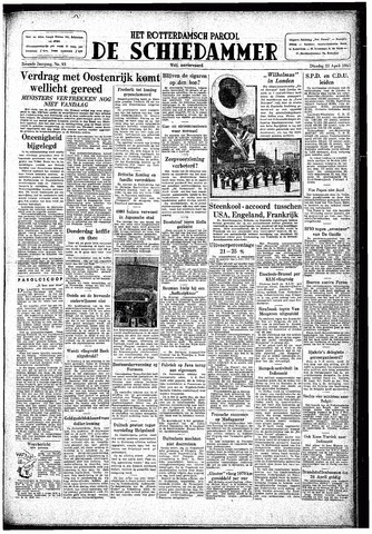 Rotterdamsch Parool / De Schiedammer 1947-04-22