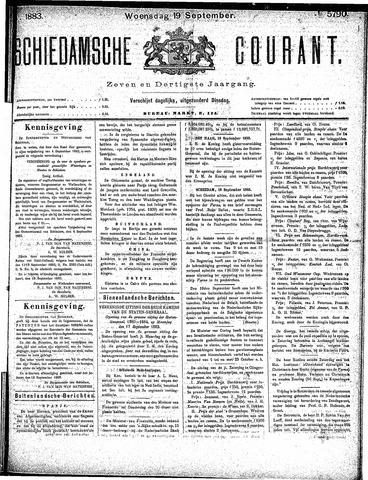 Schiedamsche Courant 1883-09-19