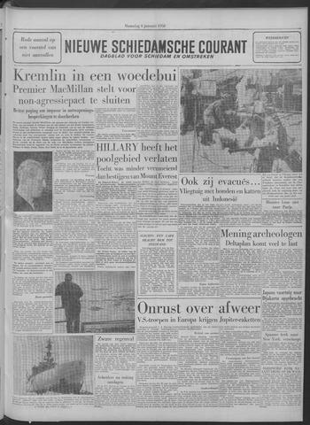 Nieuwe Schiedamsche Courant 1958-01-06