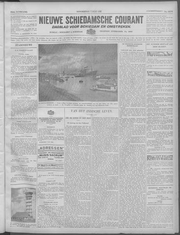 Nieuwe Schiedamsche Courant 1932-07-07