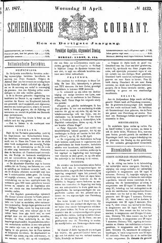 Schiedamsche Courant 1877-04-11