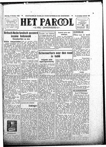 Rotterdamsch Parool / De Schiedammer 1945-10-13