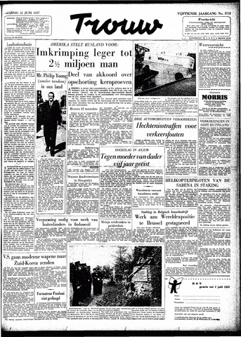 Trouw / De Rotterdammer 1957-06-21