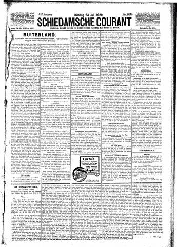 Schiedamsche Courant 1929-07-23