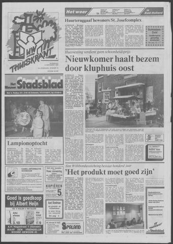 Het Nieuwe Stadsblad 1989-09-13